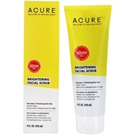 ACURE - Brightening Facial Scrub Argan Extract + Chlorella - 4 oz.