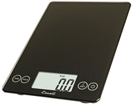 Escali - Arti Glass Digital Food Scale 157IB Ink Black, from category: Housewares & Cleaning Aids