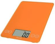 Escali - Arti Glass Digital Food Scale 157OO Overly Orange