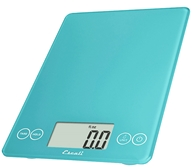 Escali - Arti Glass Digital Food Scale 157PB Peacock Blue