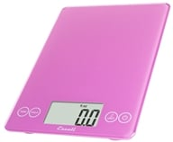 Escali - Arti Glass Digital Food Scale 157PP Poppin' Pink, from category: Housewares & Cleaning Aids