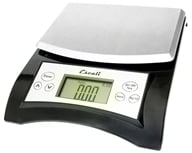 Escali - Aqua Digital Food Scale A115B Black (857817000378)