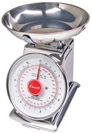 Image of Escali - Mercado Dial Scale With Bowl 6 lb Capacity DS63B
