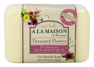 A La Maison - Traditional French Milled Bar Soap Thousand Flowers - 8.8 oz. by A La Maison