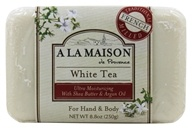 A La Maison - Traditional French Milled Bar Soap White Tea - 8.8 oz. by A La Maison