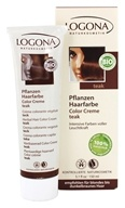 Image of Logona - Herbal Hair Color Cream Teak - 5.1 oz.