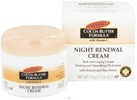 Image of Palmer's - Cocoa Butter Formula Night Renewal Cream with Vitamin E - 2.7 oz. OVERSTOCKED