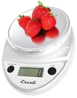 Escali - Primo Digital Food Scale P115C Chrome