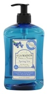 A La Maison - Traditional French Milled Liquid Soap Spirng Iris - 16.9 oz. by A La Maison