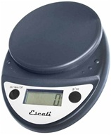 Escali - Primo Digital Food Scale P115CH Black by Escali