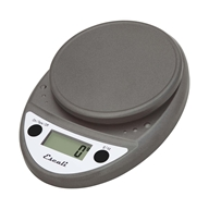 Escali - Primo Digital Food Scale P115M Metallic