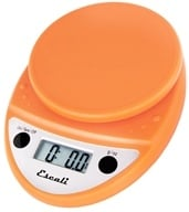 Escali - Primo Digital Food Scale P115PO Pumpkin Orange