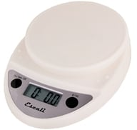 Escali - Primo Digital Food Scale P115W White