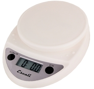 Escali - Primo Digital Food Scale P115W White - $25