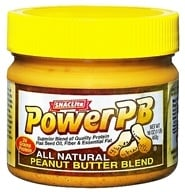 SNACLite - Power PB All Natural Peanut Butter Blend - 16 oz., from category: Health Foods