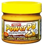 SNACLite - Power PB All Natural Peanut Butter Blend - 16 oz. by SNACLite