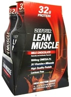 Forward Foods - Detour Lean Muscle Ready To Drink High Protein Shake Milk Chocolate - 4 Pack