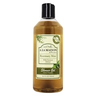 Image of A La Maison - Traditional French Milled Bath & Shower Liquid Soap Rosemary Mint - 16.9 oz.
