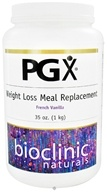 Bioclinic Naturals - PGX Weight Loss Meal Replacement French Vanilla - 35 oz.