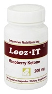 Intensive Nutrition, Inc. - Looz It Raspberry Ketone 200 mg. - 90 Vegetarian Capsules - $19.99