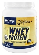 Jarrow Formulas - Organic Whey Protein French Vanilla - 1 lb., from category: Sports Nutrition