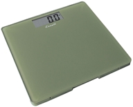 Escali - Precision Body Weight Glass Platform Square Digital Bathroom Scale B200SG Sage Green