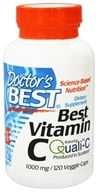 Doctor's Best - Best Vitamin C 1000 mg. - 120 Vegetarian Capsules (753950002579)