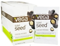 Vega - SaviSeed Cocoa Kissed Inca Peanuts - 12 x 1 oz. (28g) Snack Packs (838766030098)