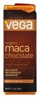 Vega - Barre de chocolat organique de Maca - 1.4 once.