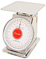 Image of Escali - Mercado Dial Scale With Plate 44 lbs. Capacity DS4420P