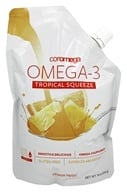 Image of Coromega - Omega 3 Big Squeeze Tropical Orange - 16 oz.