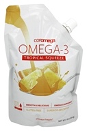 Coromega - Omega 3 Big Squeeze Tropical Orange - 16 oz. by Coromega