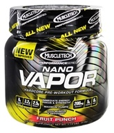 Image of Muscletech Products - Nano Vapor Performance Series Hardcore Pre-Workout Formula Fruit Punch - 1.2 lbs.