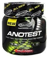 Muscletech Products - AnoTest Performance Series Testosterone Boosting Powder Fruit Punch - 0.6 lbs., from category: Sports Nutrition