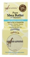 Out Of Africa - Pure Shea Butter with Vitamin E Tin Vanilla - 5 oz.