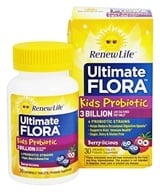 ReNew Life - Ultimate Flora Kids Probiotic - 30 Chewable Tablets by ReNew Life