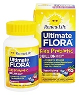 Image of ReNew Life - Ultimate Flora Kids Probiotic - 30 Chewable Tablets