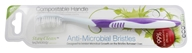 EcoFam - Stay Clean Technology Biodegradable Toothbrush Purple