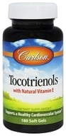 Image of Carlson Labs - Tocotrienols with Natural Vitamin E - 180 Softgels