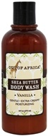 Out Of Africa - Shea Butter Body Wash Vanilla - 9 oz. Formerly Tropical Vanilla