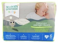 Seventh Generation - Overnight Diapers Stage 6 (35+ lbs.) - 17 Diaper(s) - $15.99