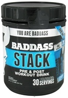 Baddass Nutrition - Stack The Complete Workout Drink 30-Servings - 30 Stick(s)