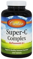 Carlson Labs - Super-C-Complex Bioflavonoids and C - 250 Tablets - $15.19