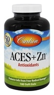 Carlson Labs - ACES + Zn Vitamins A, C, E Plus Selenium and Zinc - 180 Softgels
