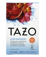 Image of Tazo - Caffeine Free Iced Passion Tea - 6 Tea Bags