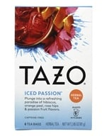 Tazo - Caffeine Free Iced Passion Tea - 6 Tea Bags, from category: Teas