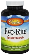 Carlson Labs - Eye-Rite Eye Formula - 180 Capsules, from category: Nutritional Supplements