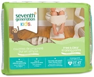 Seventh Generation - Free and Clear Training Pants Unisex 3T-4T (32-40 Lbs.) - 22 Pack - $15.99