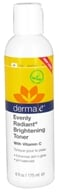 Derma-E - Evenly Radiant Brightening Facial Toner With Vitamin C - 6 oz.