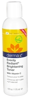 Derma-E - Evenly Radiant Brightening Facial Toner With Vitamin C - 6 oz., from category: Personal Care